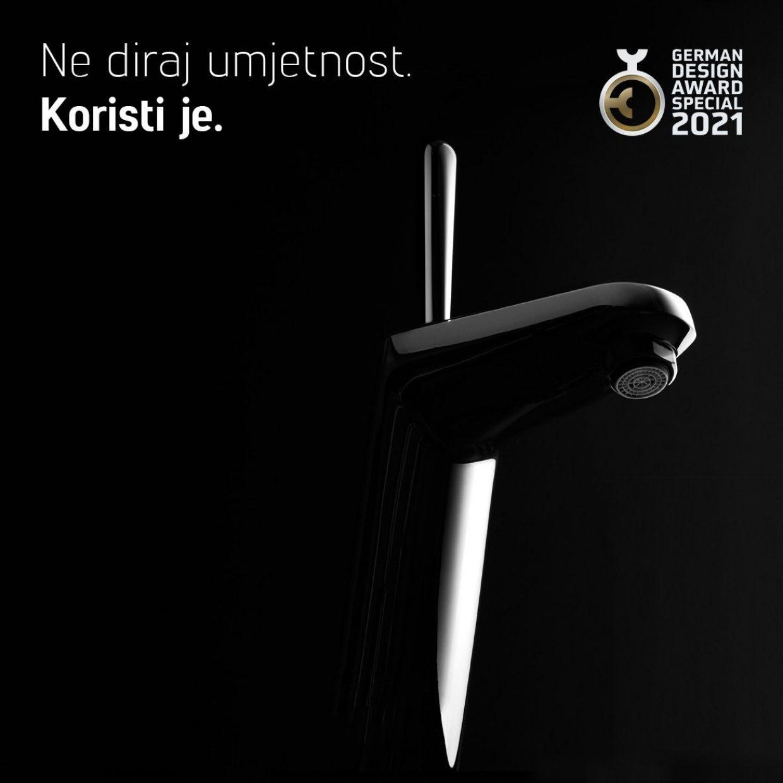 "Nagrada German Design Award za kampanju ""Don't touch art. Use it."""
